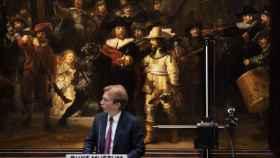La 'Ronda de noche' de Rembrandt será restaurado delante del público.