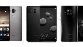 Así han evolucionado los Huawei Mate: desde el 9 al Mate 20 Pro