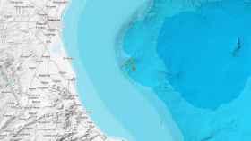 Localización del seísmo, según en Instituto Geográfico Nacional.