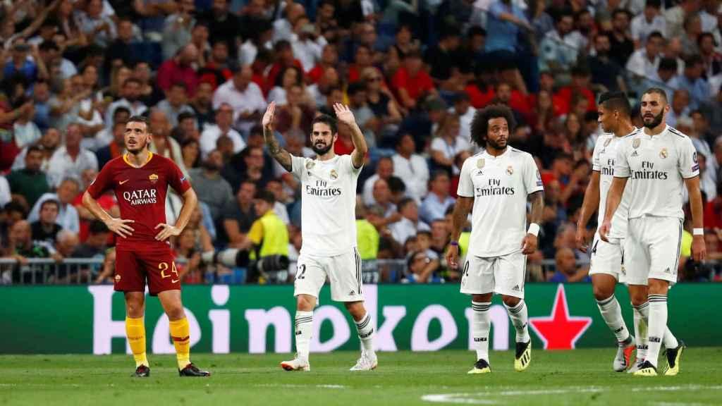 Isco y Marcelo, en un partido del Real Madrid