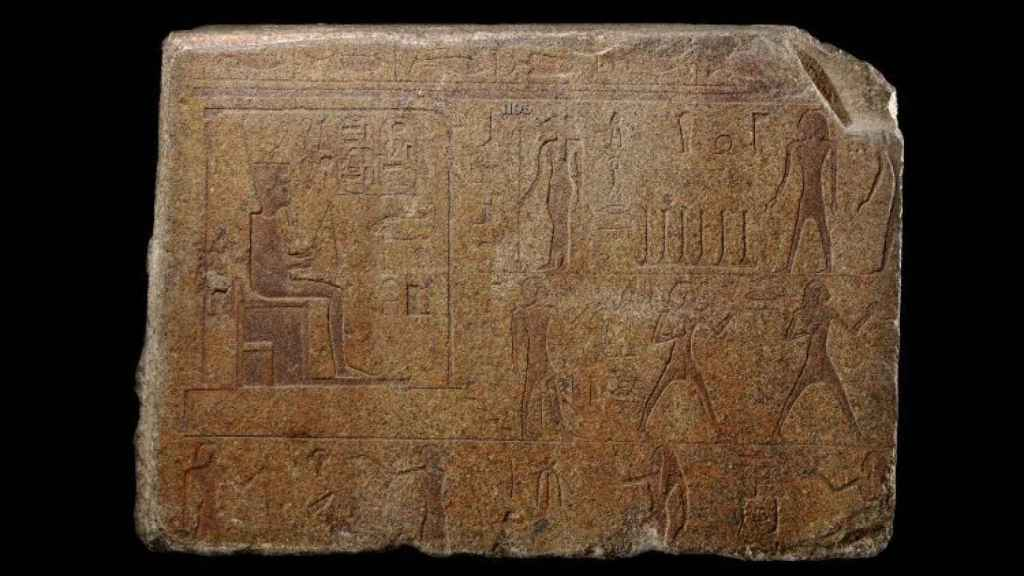 Relieve del faraón Osorkon II.