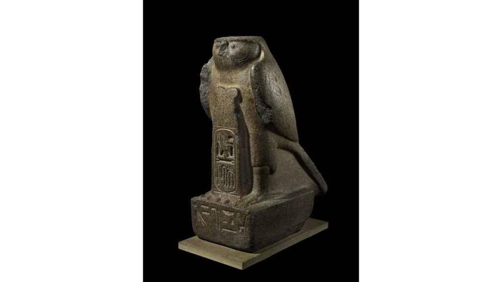 Estatua del dios Re-Horakhty.