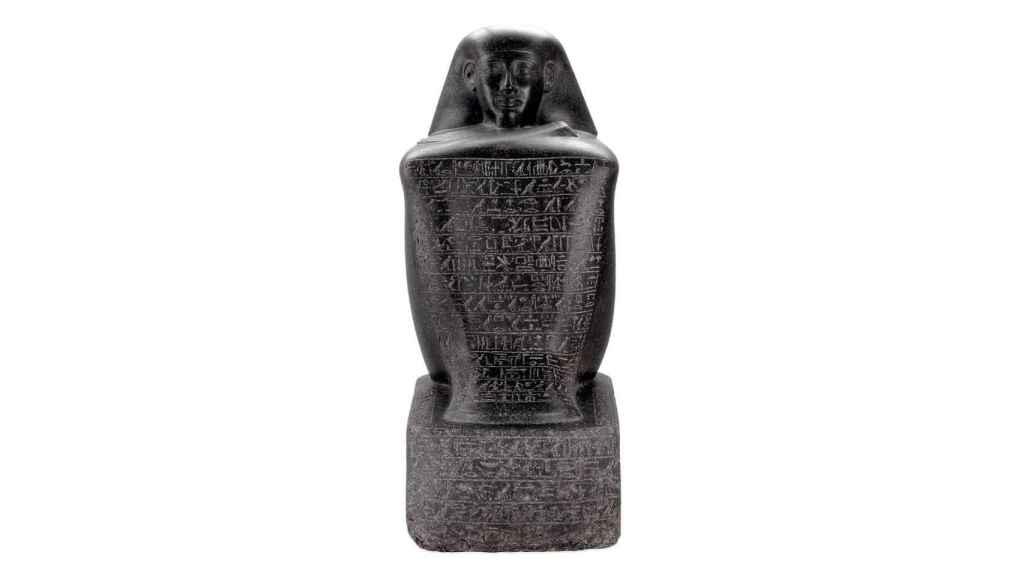 Estatua del funcionario Sennefer