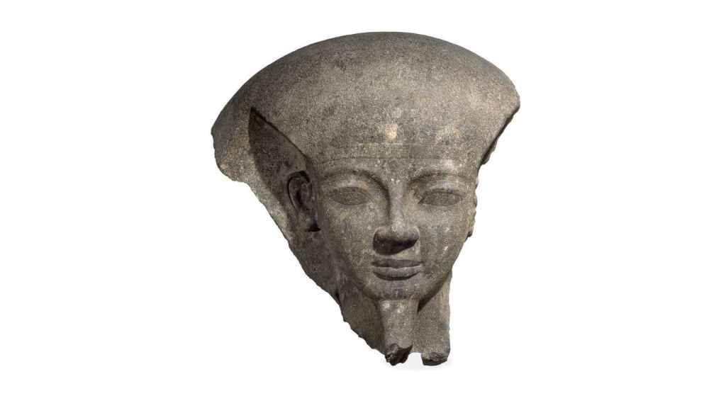 Fragmento de la tapa del sarcófago de Ramses VI