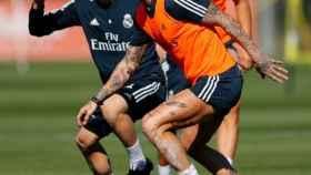 El Real Madrid prepara el duelo ante el Levante.