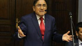 César Hinostroza, juez supremo de Perú acusado de corrupción.