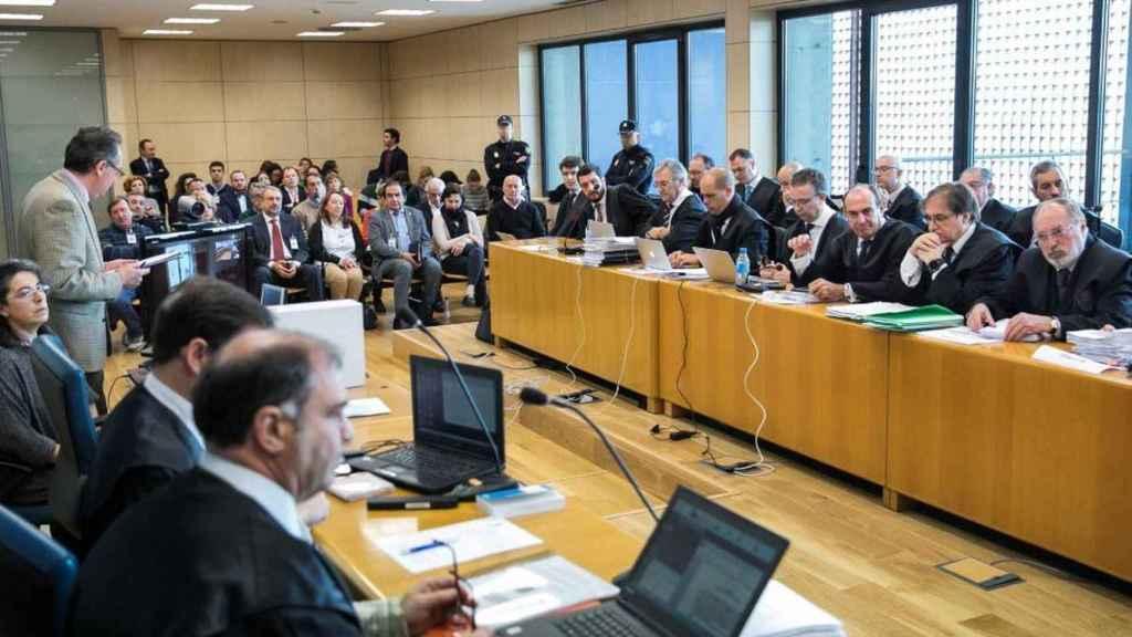 Imagen del juicio contra los miembros de Tambovskaya en la Audiencia Nacional