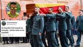 El joven se burló en un tuit del asesinato del guardia civil en Granada
