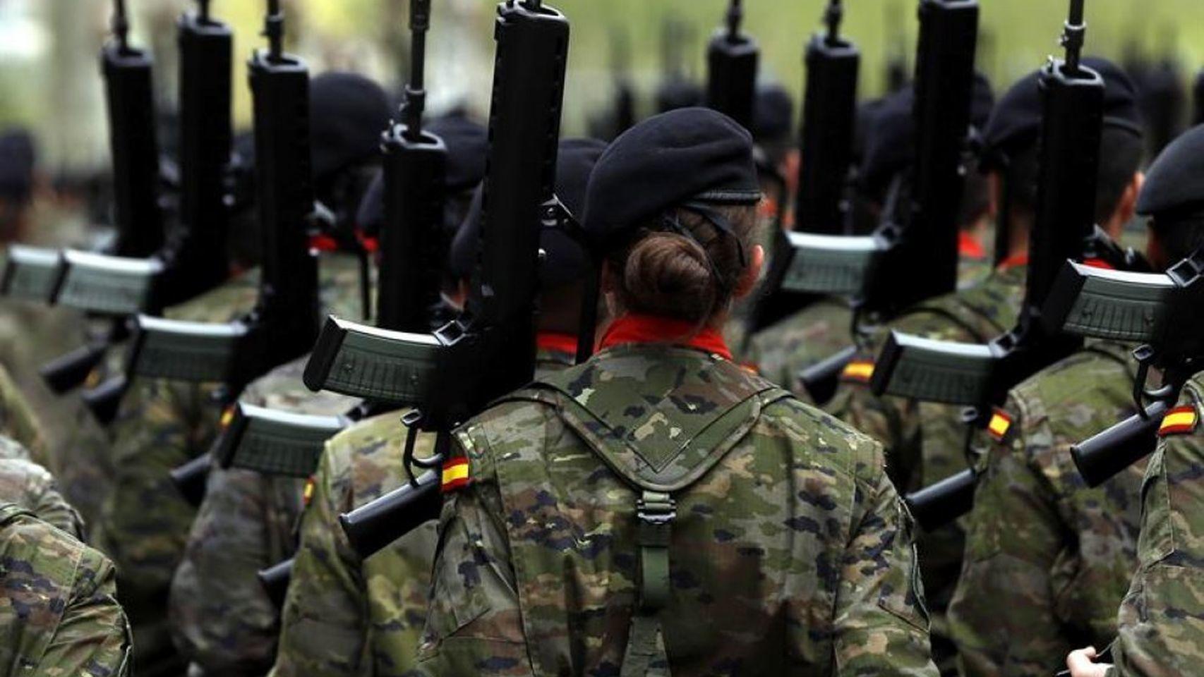 Mujeres en el Ejército español.