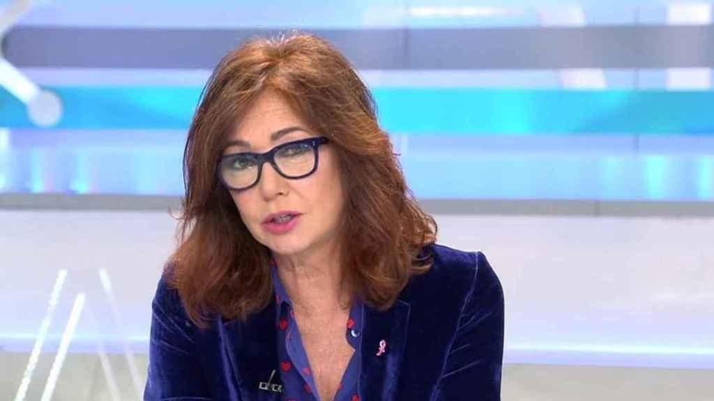 Ana Rosa durante el programa.
