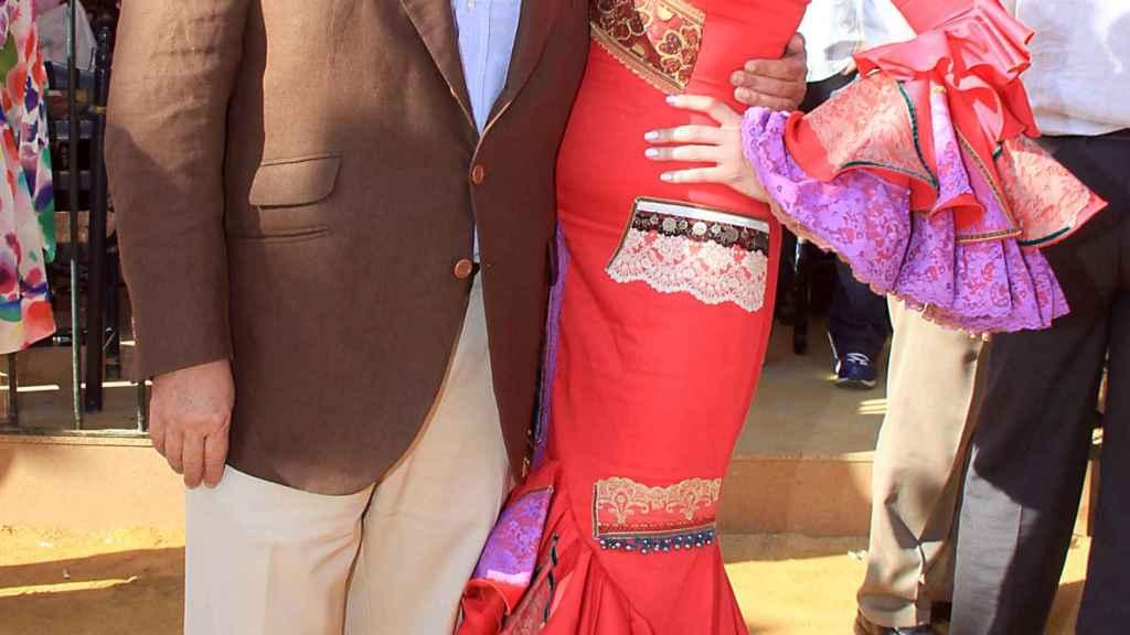 José María Gil Silgado y María Jesús.