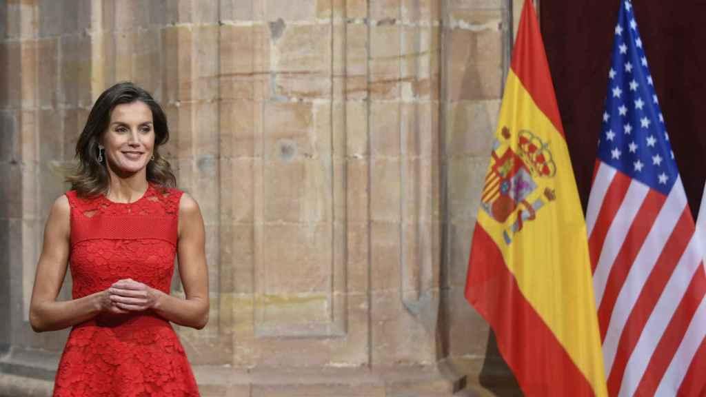 La reina Letizia en el evento.