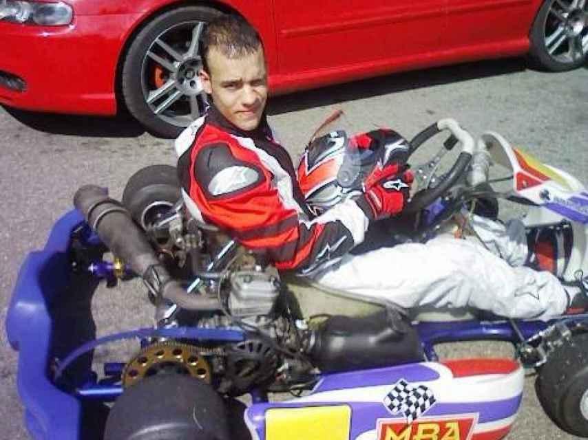 A Iván le gustaba competir en este tipo de coches de carreras.