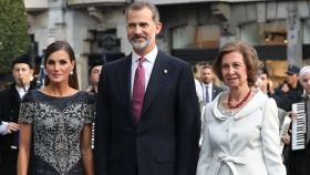 La reina Letizia en los premios Princesa de Asturias.