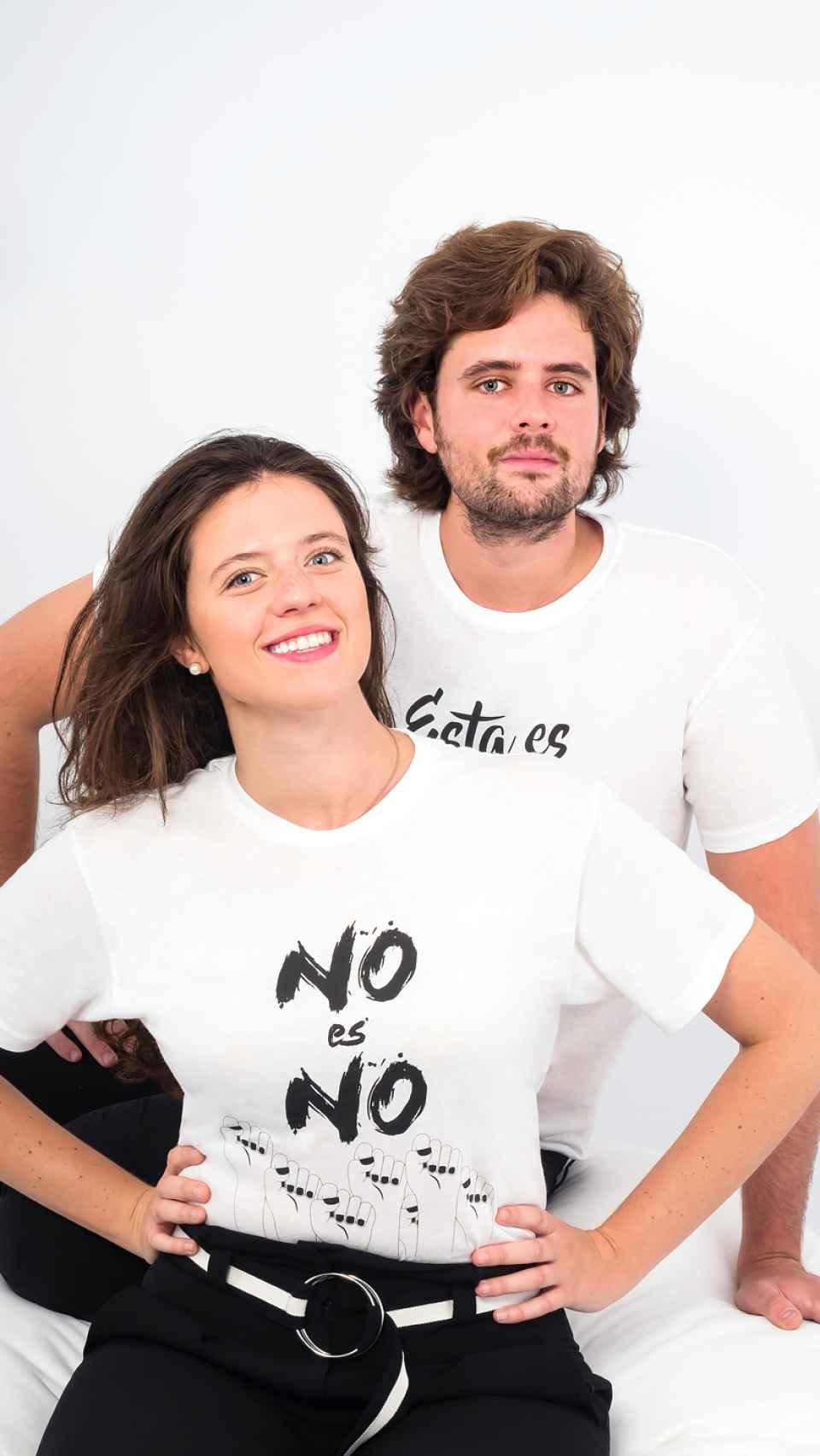 Los hermanos Blanca y Javier, creadores de la marca #YoSíTeCreo.