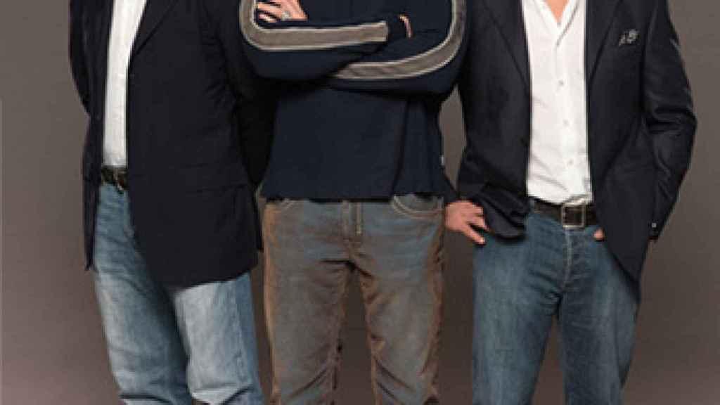 Frank Fertitta, Dana White y Lorenzo Fertitta. Foto: ufc.com