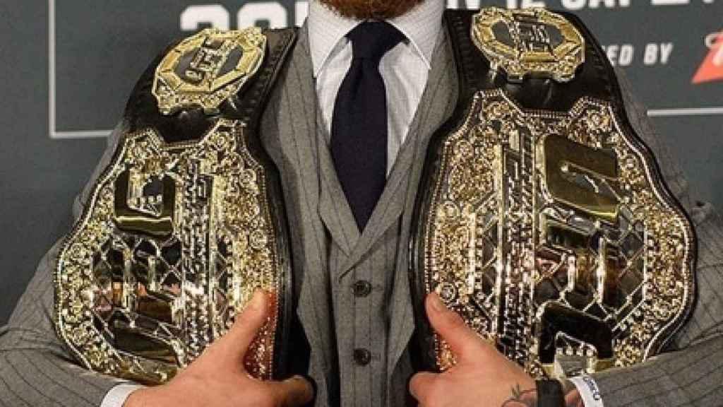 Conor Mcgregor en un evento de UFC. Foto: Instagram (@thenotoriousmma)
