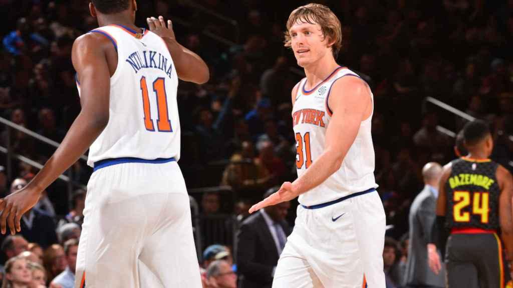 Pese a ser el equipo más valioso de la NBA, los New York Knicks no superan a la UFC en materia económica. Foto: knicks.com