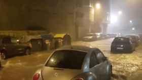 Lluvias torrenciales en Benicarló, Castellón, en octubre de 2018.