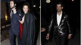 Ana Guerra y Miguel Ángel Muñoz llegando a los Premios Cosmopolitan.