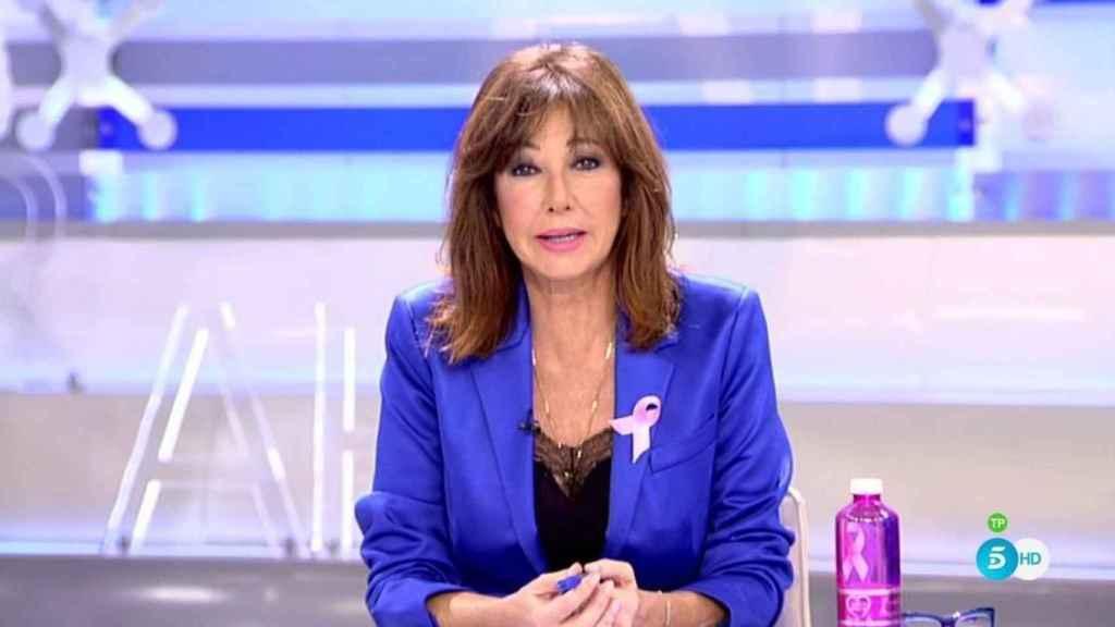 Ana Rosa Quintana durante el programa.