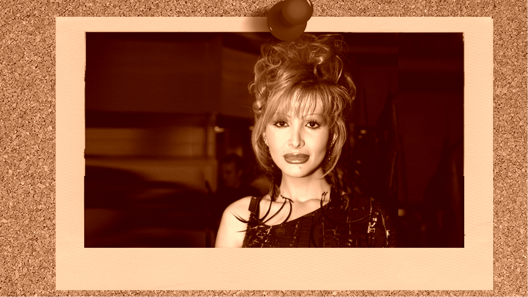 La cantante Yurena en montaje JALEOS.