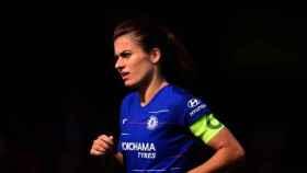 Karen Carney, capitana del Chelsea. Foto: chelseafc.com
