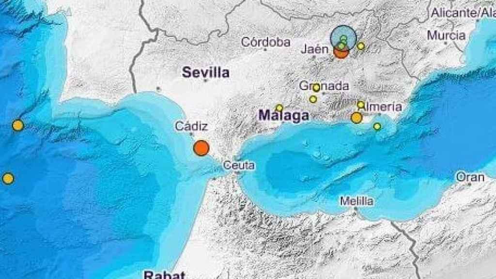 Registrado un terremoto en Cádiz, el segundo en 24 horas en Andalucía