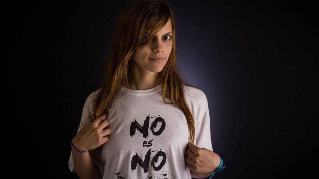 María Ufano, 26 años fue víctima de agresiones psicológicas y sexuales del que fue su primer novio.
