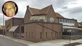 La fachada de la funeraria Cantrell donde el emprendedor afroamericano comenzó su negocio.