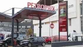 La gasolinera Petroprix de San Sebastián de los Reyes, Madrid.