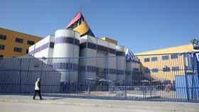 Centro de Internamiento de Extranjeros (CIE) de Aluche, en Madrid.