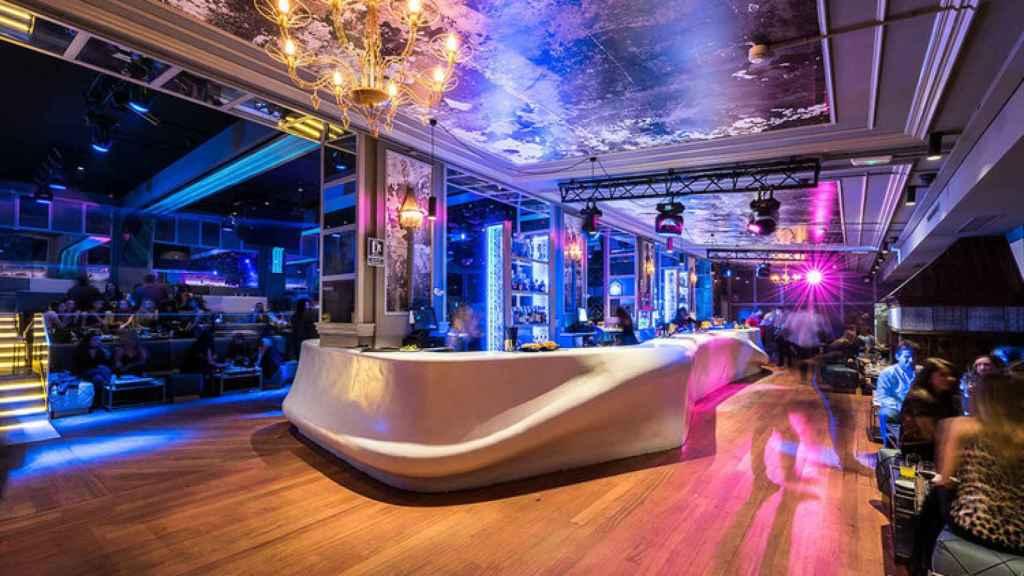 Interior de la famosa y exclusiva discoteca Blackhaus.