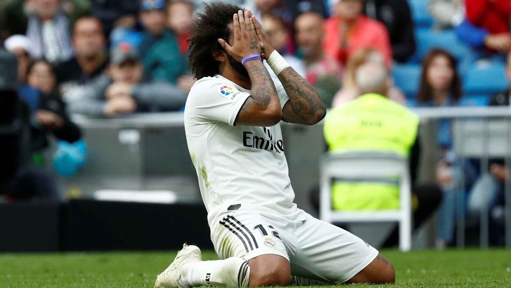 Marcelo se lamenta