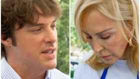 Jordi Cruz y Carmen Lomana en montaje JALEOS.