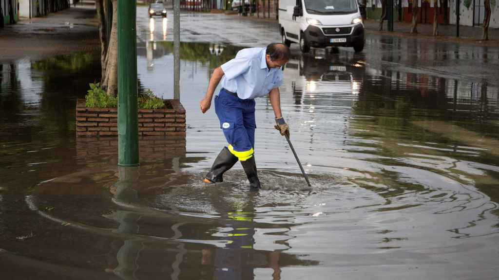 Inundaciones en Málaga