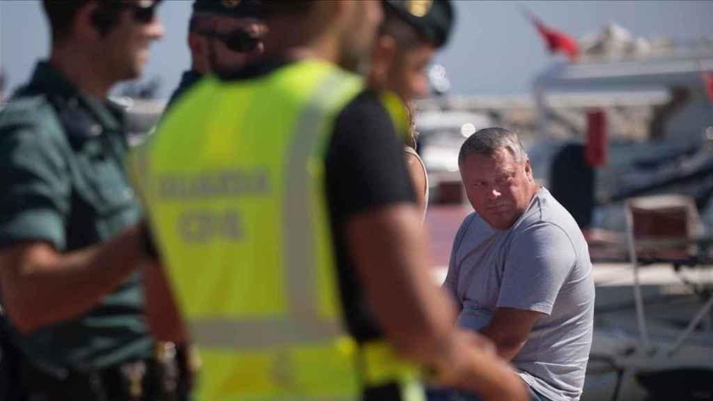 Detenido en la operación de la Policía en Marbella.