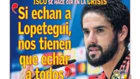 Portada del diario AS (23/10/2018)