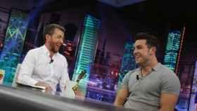 El actor Mario Casas este lunes en 'El Hormiguero' de Pablo Motos.