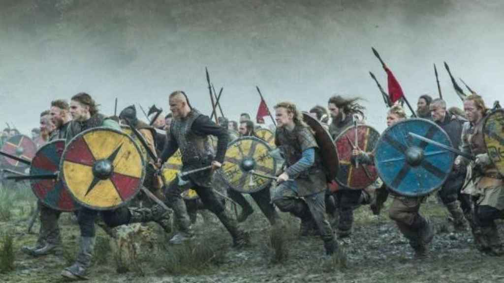 Fotograma de la serie 'Vikings'