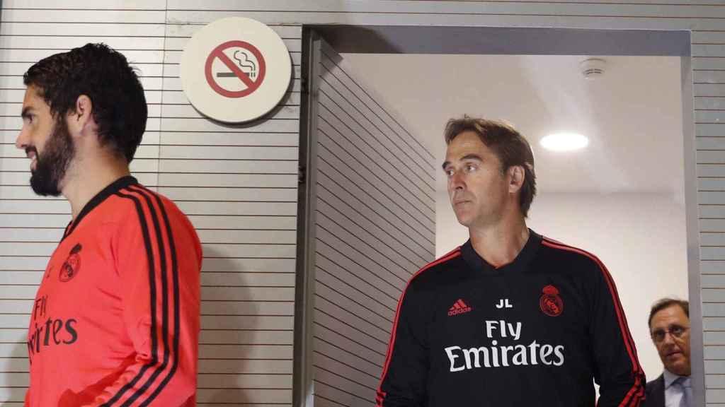 Rueda de prensa de Julen Lopetegui tras el entrenamiento del Real Madrid
