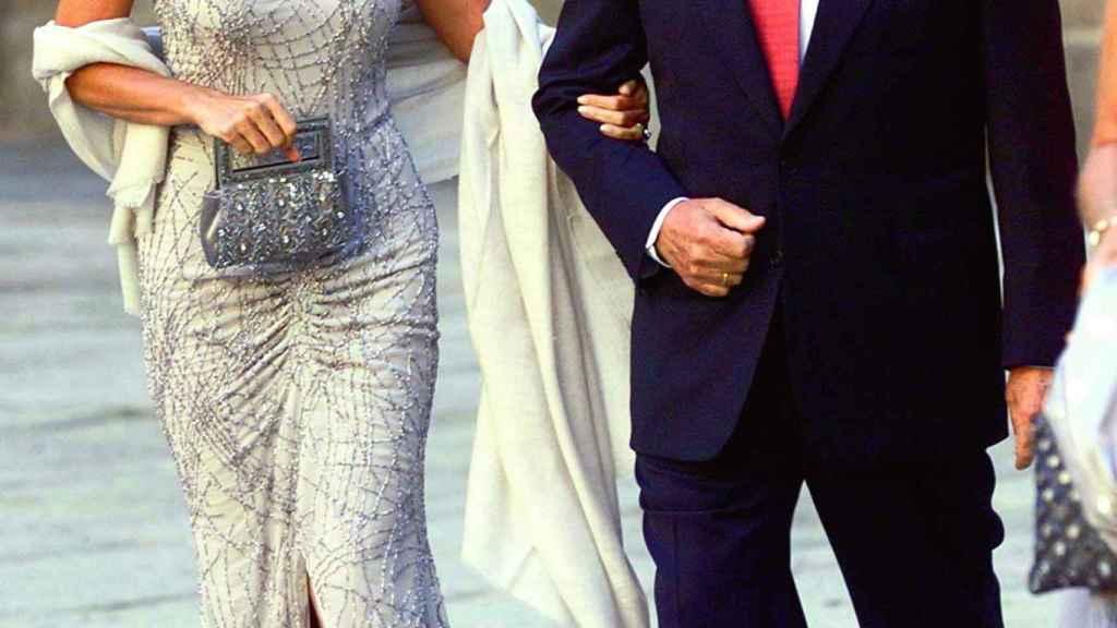 Isabel Preysler y Miguel Boyer en una imagen de archivo.