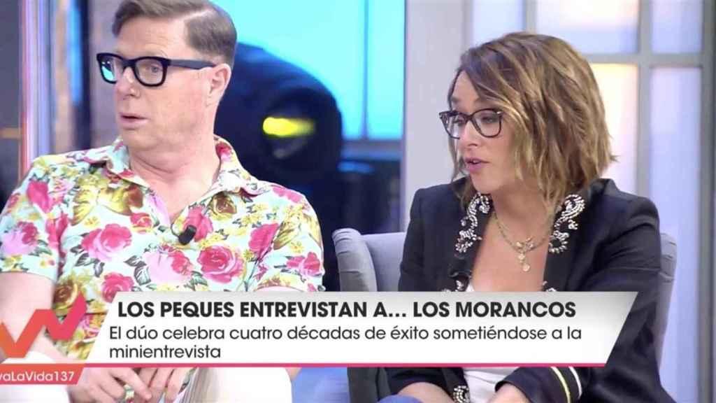Jorge Cadaval en un momento del programa 'Viva la vida'.