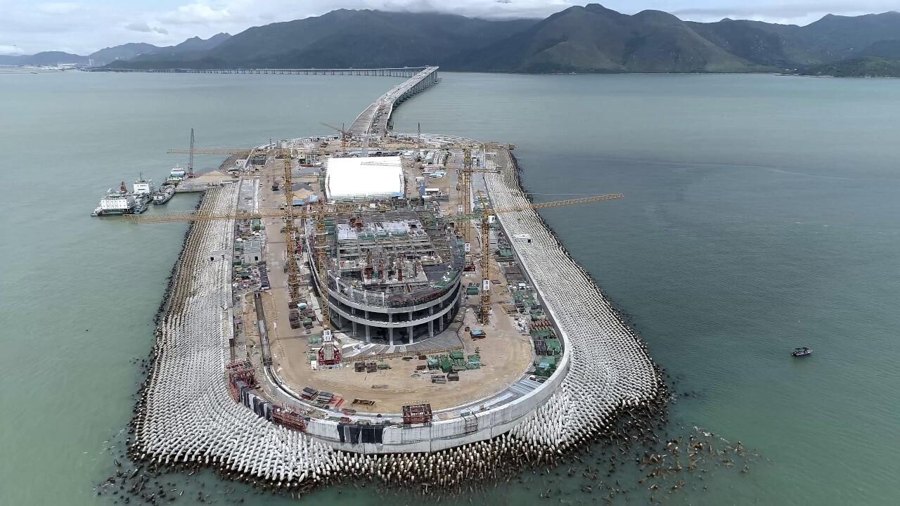 Isla artificial China