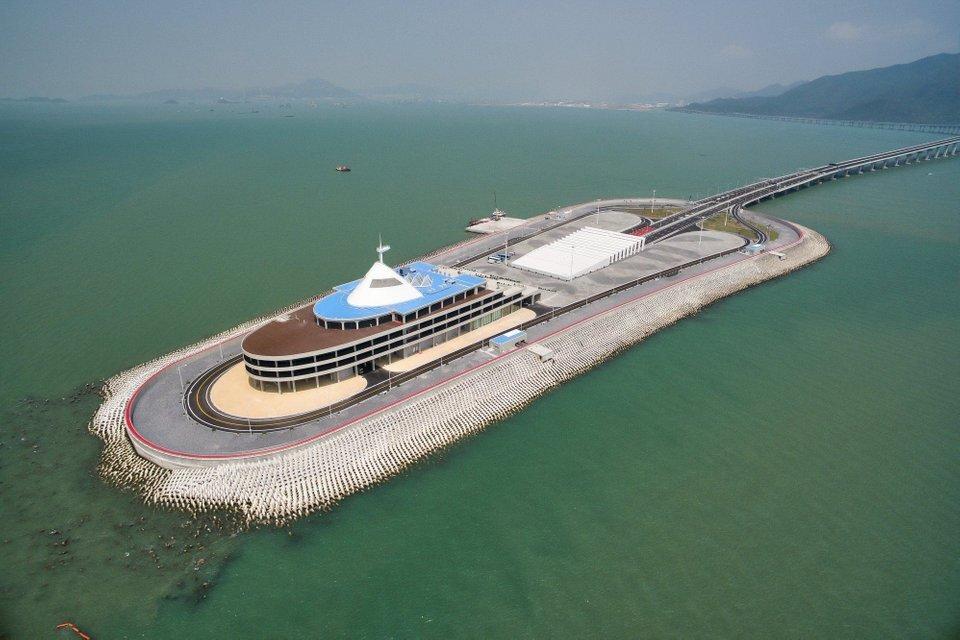 Isla artificial China 2