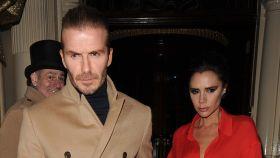 Los Beckham en una imagen de archivo.
