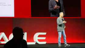Larry Ellison, presidente y CTO de Oracle, durante el OpenWorld 2018