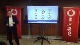 José Luis Cuerda, durante la presentación del II Estudio sobre la digitalización de las empresas y Administraciones Públicas en España.