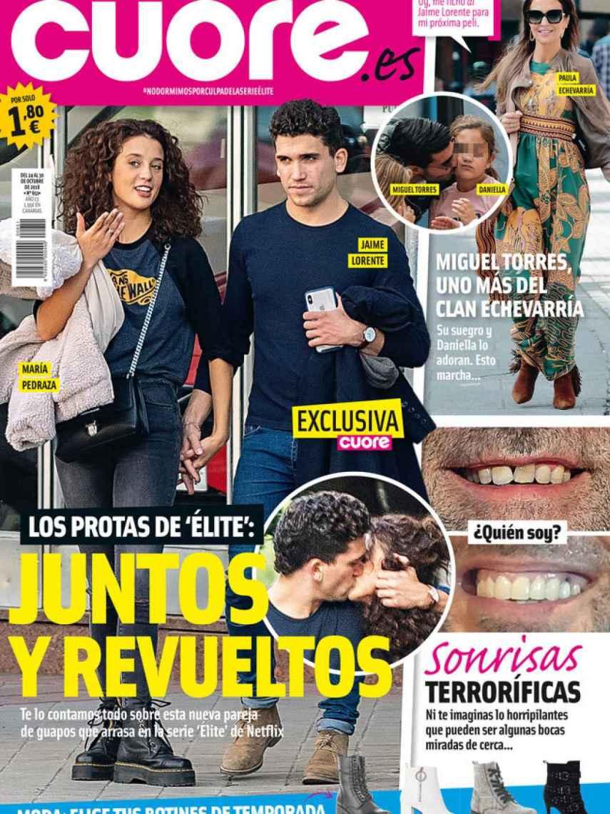 La portada de 'Cuore'.