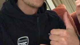 Mesut Özil. Foto: Twitter (@MesutOzil1088)
